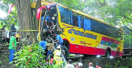 accidente puerto boyaca
